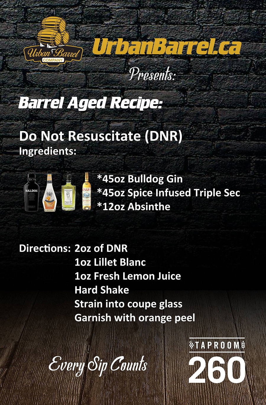 Recipe: Do Not Resuscitate (DNR)