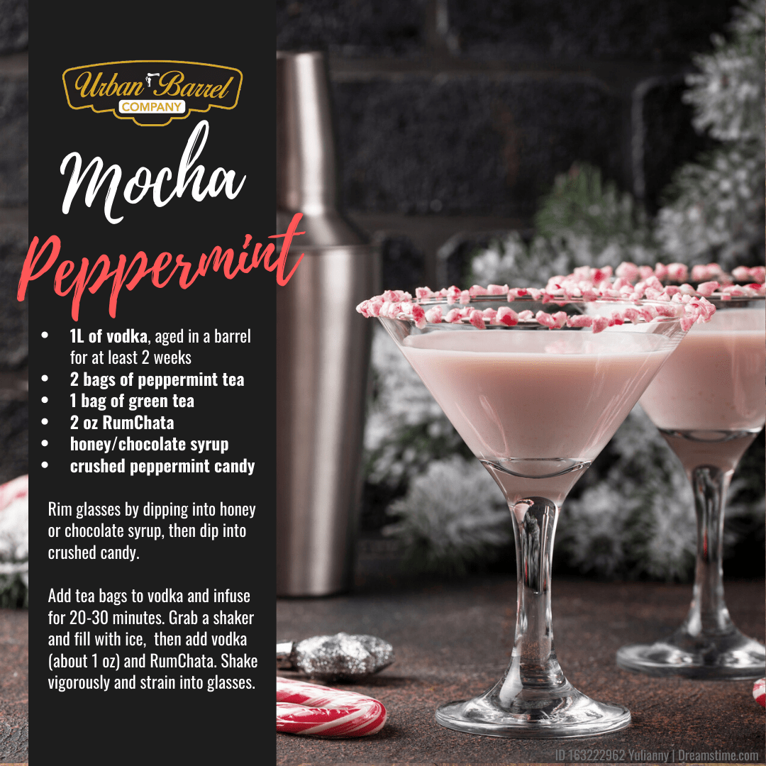 Barrel Aged Peppermint Mocha Recipe