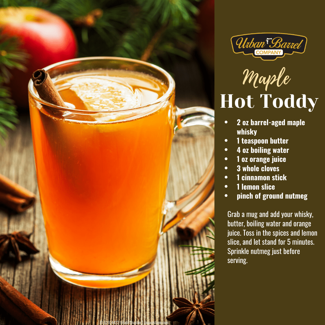 Maple Hot Toddy Recipe