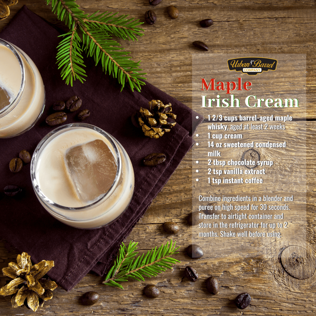 Maple Irish Cream recipe